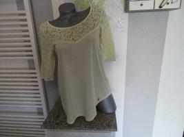 Khujo T-shirt jaune clair-jaune primevère coton