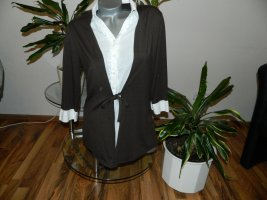 Damen Shirt in Doppel Optik  Größe 42 von C&A (883)