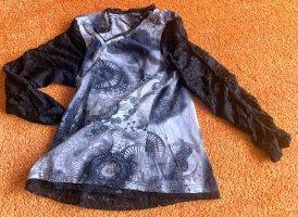 Damen Shirt Jersey mit Spitzen Gr.M in Schwarz von Lisa Tossa NW