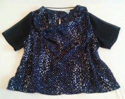 Damen Shirt Sommer Bluse Gr.S Blau von Monki NW
