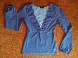 Damen Shirt Stretch  Modern Gr.36 in Lila von Flash Lights