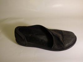 Sandales confort noir cuir