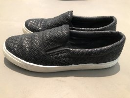 Pieces Basket slip-on noir