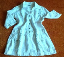 Damen Sommer Leinen Tunika Gr.36 in Weiß von Street One