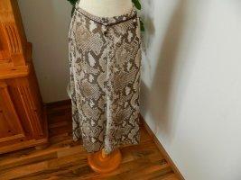 Lisa Tossa Crash Skirt brown-beige polyester