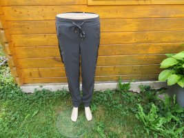 Amisu Jersey Pants anthracite-dark grey polyester