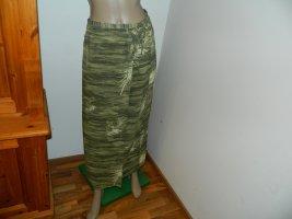 Falda cruzada verde Viscosa
