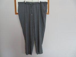 Yessica Jersey Pants black-white viscose