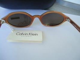 Calvin Klein Gafas Retro bermejo-naranja oscuro