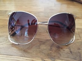 Oval Sunglasses gold-colored-rose-gold-coloured
