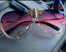 & other stories Gafas color plata-violeta