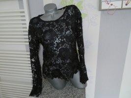Damen Spitzen Blusen Shirt Größe 42 von H&M (Nr661)