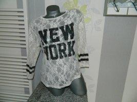 Sparkz Mesh Shirt cream-black nylon