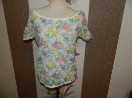 Damen Spitzen Shirt Größe S/M (841)