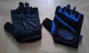Rękawice bez palców ciemnoniebieski-czarny