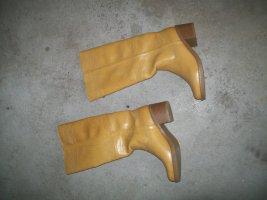Graceland Cothurne brun sable tissu mixte
