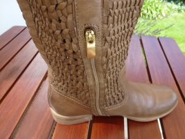 Bruno Premi Jackboots light brown leather