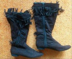 Marco Tozzi Gotyckie buty ciemnobrązowy