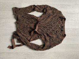 Betty Barclay Wełniany sweter ciemnobrązowy