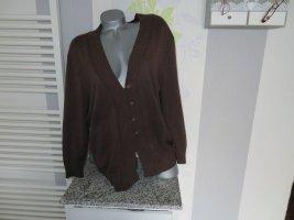 Änny N Cardigan brown cotton