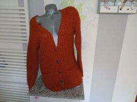 C&A Clockhouse Veste en tricot cognac acrylique
