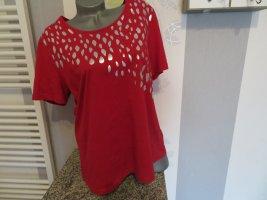 AproductZ T-shirt czerwony Bawełna