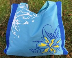 Shopping Bag blue