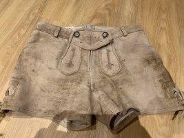 Spieht & Wensky Pantalone in pelle tradizionale multicolore