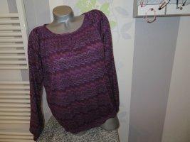 Takko Tunique violet-brun pourpre polyester