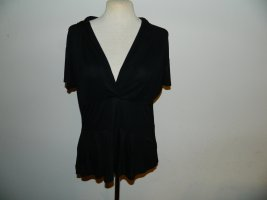 H&M Shirt Tunic black viscose