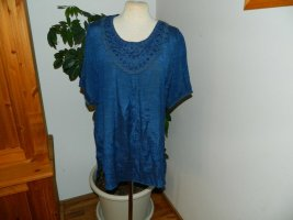LMC fashion Hemdtuniek donkerblauw Viscose