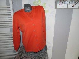 Bexleys Twin set in maglia arancione Lana