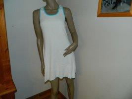 Robe t-shirt blanc coton