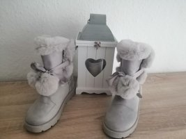 Slouch Booties rose-gold-coloured