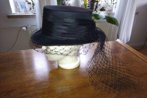 unbekannte Sombrero de copa azul oscuro