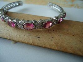 Brazalete rosa neón