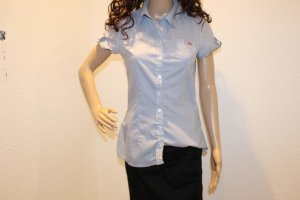 eight 2 nine Jeans blouse lichtblauw