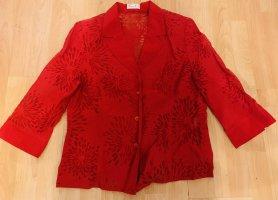 Bonita Blusa trasparente rosso