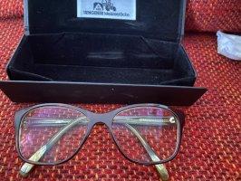 Okulary ciemnobrązowy