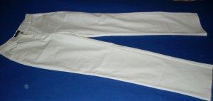 Gabbiano Pantalon de jogging blanc coton