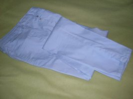 markenlos Pantalon de jogging bleu azur coton