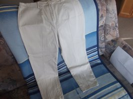 Pleated Trousers light grey mixture fibre