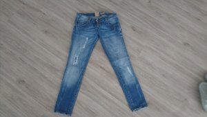 0039 Italy Slim Jeans cadet blue-light blue