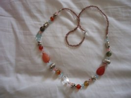 Necklace russet-red