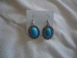 Statement Earrings neon blue