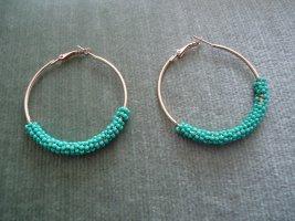 Ear Hoops neon blue