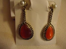Statement Earrings neon orange