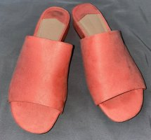 Oysho Heel Pantolettes apricot mixture fibre