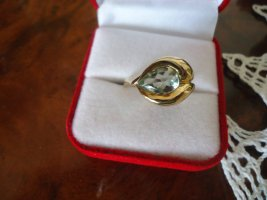 Gold Ring gold-colored-grass green