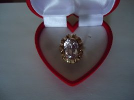 Damenring 333gold rosa Amethyst